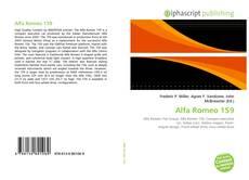 Обложка Alfa Romeo 159