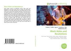 Bookcover of Black Holes and Revelations
