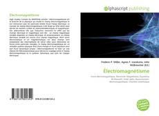 Couverture de Électromagnétisme
