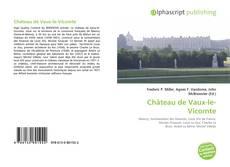 Bookcover of Château de Vaux-le-Vicomte