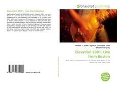 Обложка Elevation 2001: Live from Boston