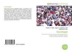 Обложка Sociologie