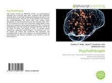 Buchcover von Psychothérapie