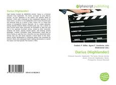 Bookcover of Darius (Highlander)