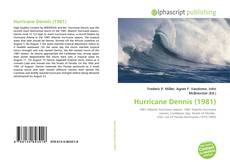 Bookcover of Hurricane Dennis (1981)