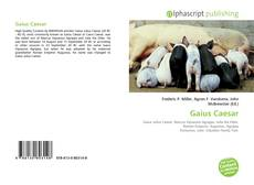 Обложка Gaius Caesar