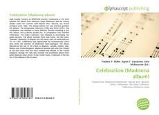 Borítókép a  Celebration (Madonna album) - hoz