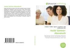 Bookcover of Heide Göttner-Abendroth