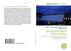 Lawn Gnome Beach Party of Terror的封面
