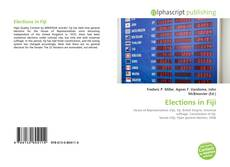 Bookcover of Elections in Fiji