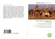 Antiquité Tardive的封面