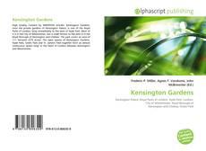 Portada del libro de Kensington Gardens