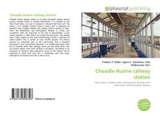 Bookcover of Cheadle Hulme railway station