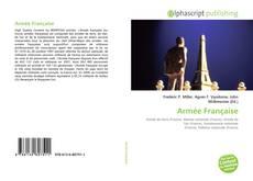 Portada del libro de Armée Française