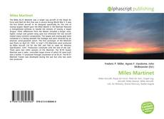 Bookcover of Miles Martinet
