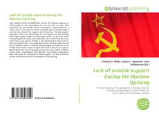 Copertina di Lack of outside support during the Warsaw Uprising