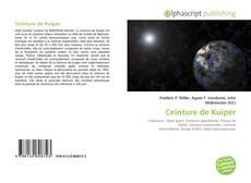 Ceinture de Kuiper kitap kapağı