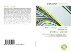 Capa do livro de Bentley Turbo R