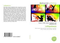 Buchcover von Lollapalooza