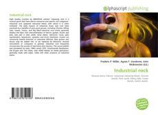 Bookcover of Industrial rock