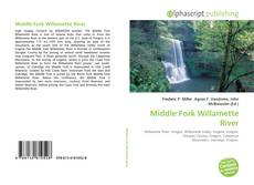 Bookcover of Middle Fork Willamette River