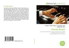 Bookcover of Charles Rosen