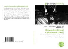 Borítókép a  Darwin Centennial Celebration (1959) - hoz