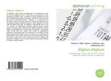 Обложка Afghan Afghani