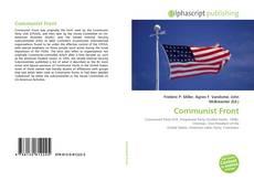 Capa do livro de Communist Front