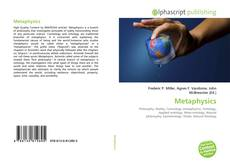 Bookcover of Metaphysics