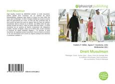 Bookcover of Droit Musulman