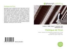 Bookcover of Politique de l'Iran