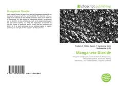 Bookcover of Manganese Dioxide