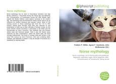 Обложка Norse mythology