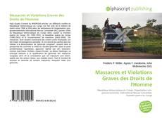Buchcover von Massacres et Violations Graves des Droits de l'Homme