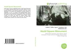 Bookcover of Heald Square Monument