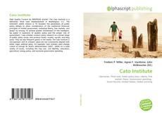 Capa do livro de Cato Institute
