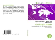 Buchcover von Economy of Malawi