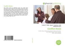 Borítókép a  Conflict thesis - hoz