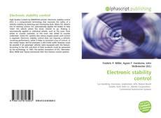 Electronic stability control的封面
