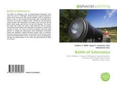 Portada del libro de Battle of Salamanca
