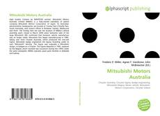 Обложка Mitsubishi Motors Australia