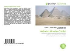 Borítókép a  Akhmim Wooden Tablet - hoz