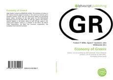 Couverture de Economy of Greece