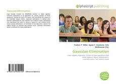 Capa do livro de Gaussian Elimination