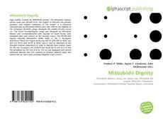 Capa do livro de Mitsubishi Dignity