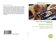 Обложка Brecker Brothers