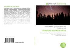 Capa do livro de Arnaldus de Villa Nova