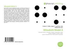 Buchcover von Mitsubishi Model A