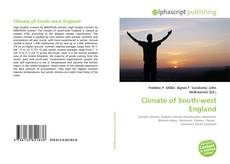 Bookcover of Climate of South-west England